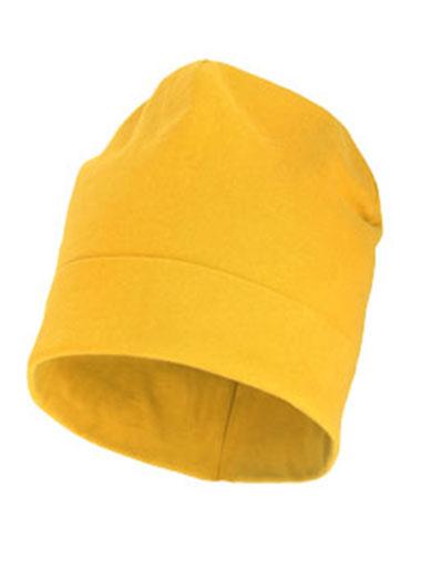 Bonnet jaune personnalisable