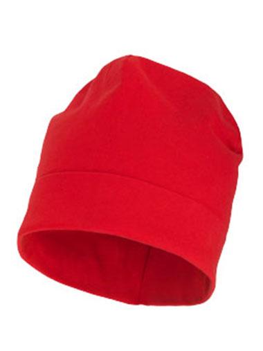 Bonnet rouge personnalisable