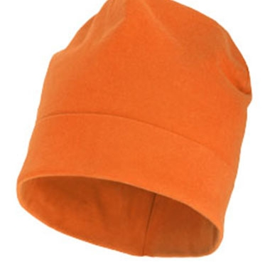Bonnet orange personnalisable