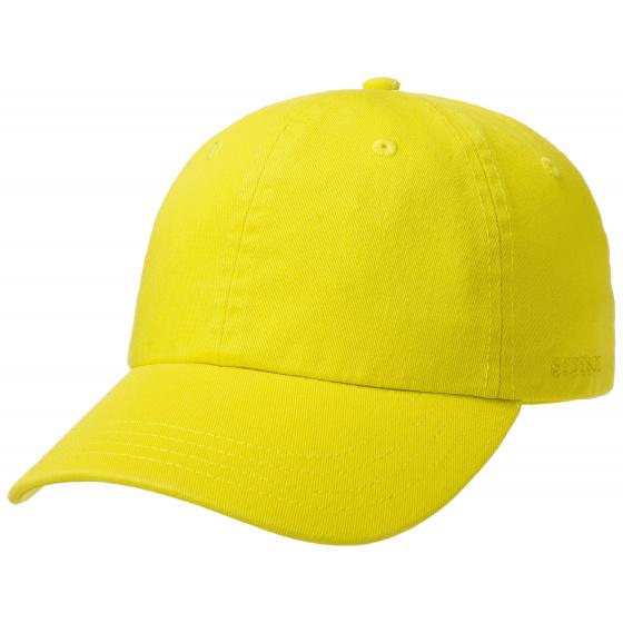 Casquette jaune personnalisable