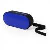 Haut-parleur sans fil de couleur bleue