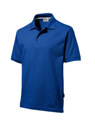 Polo bleu personnalisable