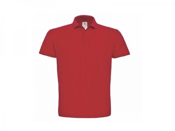 Polo en rouge personnalisable