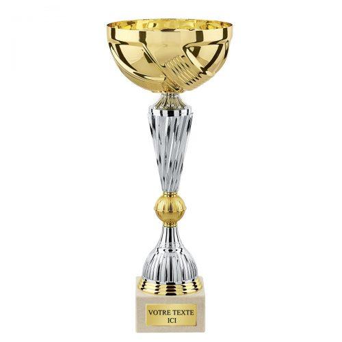 Trophée coupe de foot personnalisé