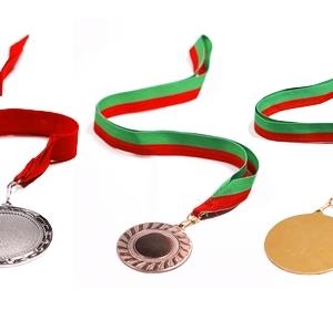 Médaille avec impression UV