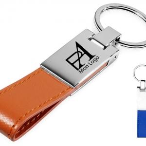 Porte clé avec gravure laser