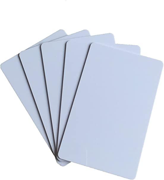 Carte PVC avec impression UV
